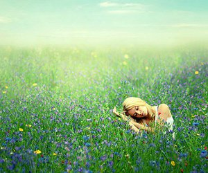 flowers, Dream, and girl image