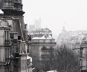 architecture, black and white, and city image
