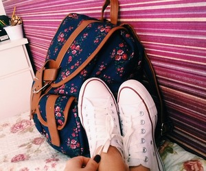bag, style, and shoes image