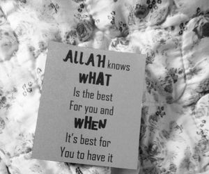 allah, islamic, and quotes image