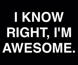 am, awesome, and bitch image