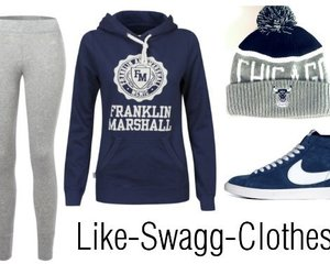 clothes, fashion, and jogging image