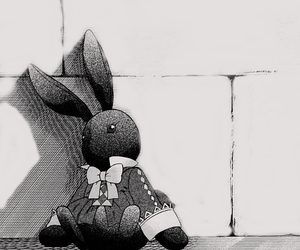 alice, manga, and monochrome image