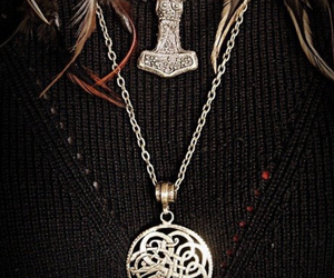 beautiful, celtic, and feather image