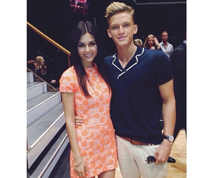 cody simpson, victoria justice, and dancing with the stars image