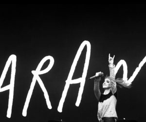 black and white, paramore, and hayley williams image
