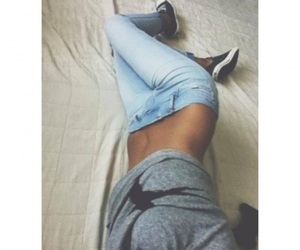 girl, body, and jeans image