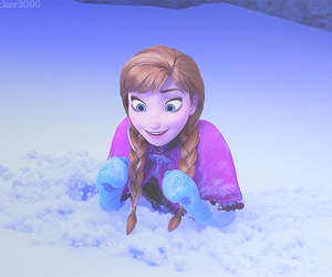 ana, frozen, and movie image
