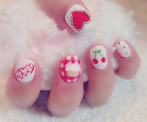 nail, かなかな, and 平松可奈子 image