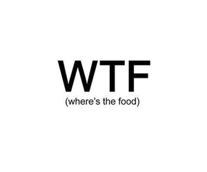 wtf and food image