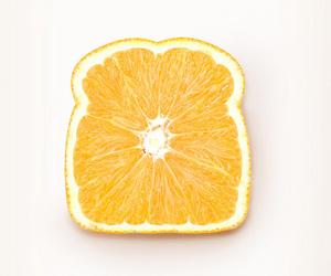 orange, fruit, and bread image