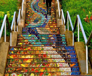 stair#colors#mosaic image