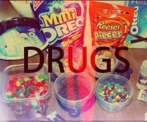 drugs, oreo, and candy image