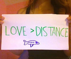 distance, I Love You, and i miss you image