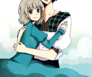 cute couple, Howl, and howl's moving castle image