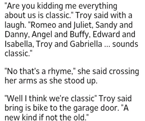 fanfiction, troyella, and classic couples image
