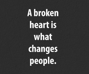broken, heart, and quote image