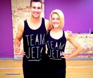 james maslow, dwts, and peta murgatroyd image