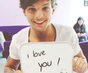 smile, louis tonlinson, and love image