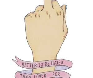 quotes, hate, and hated image