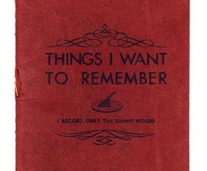 book, remember, and red image