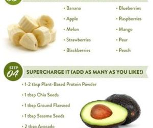 green, healthy, and smoothie image