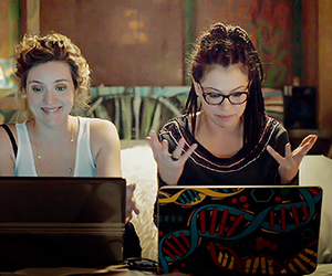 orphan black, cosima niehaus, and delphine cormier image
