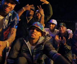 breezy, chris brown, and hoes image