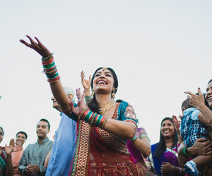 dance, fashion, and saree image