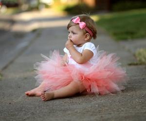 baby, nice, and pink image