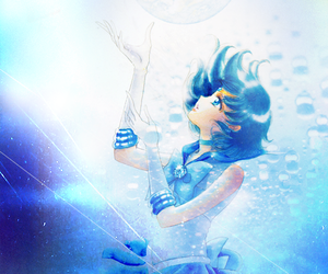 anime, manga, and sailor mercury image