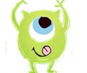 monster, mike, and cute image