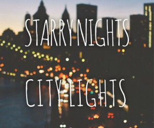 city, green day, and lights image