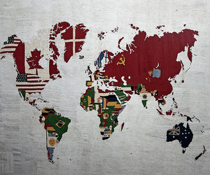 world, flag, and country image