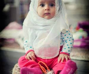 baby, muslim, and islam image