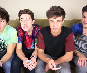 nash grier, cameron dallas, and kian lawley image