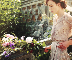 atonement, flowers, and keira knightley image