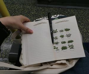 plants, grunge, and art image