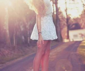 girl, blonde, and pretty image