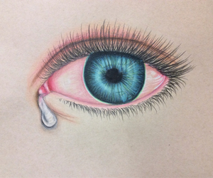 blue, brown, and cry image