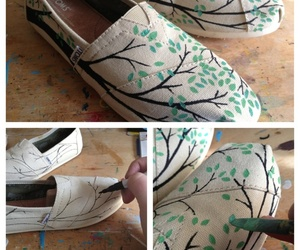 diy, toms, and tree image
