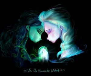 frozen, elsa, and wicked image