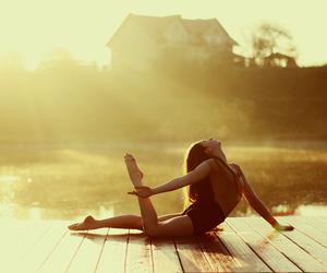 balance, ballet, and nature image