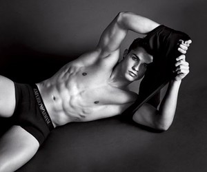 abs, shirtless, and soccer player image