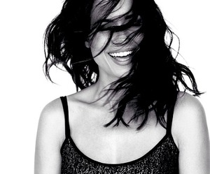 beauty, torrey devitto, and black and white image
