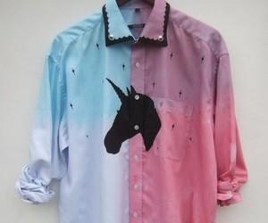 shirt and unicorn image