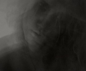 black and white, ghost, and girl image