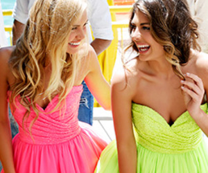 dresses, love, and neon image