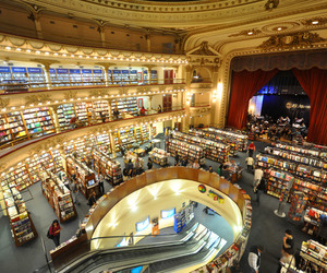architecture, argentina, and books image