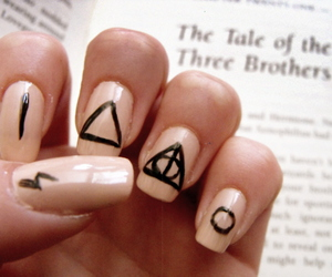 harry potter and nail image